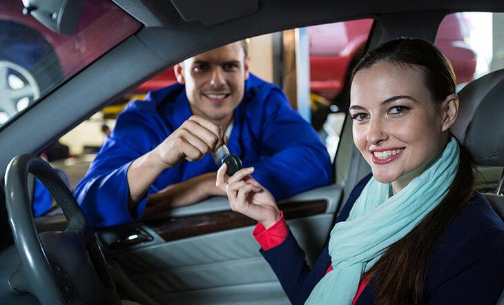 Consegna e ritiro auto a domicilio